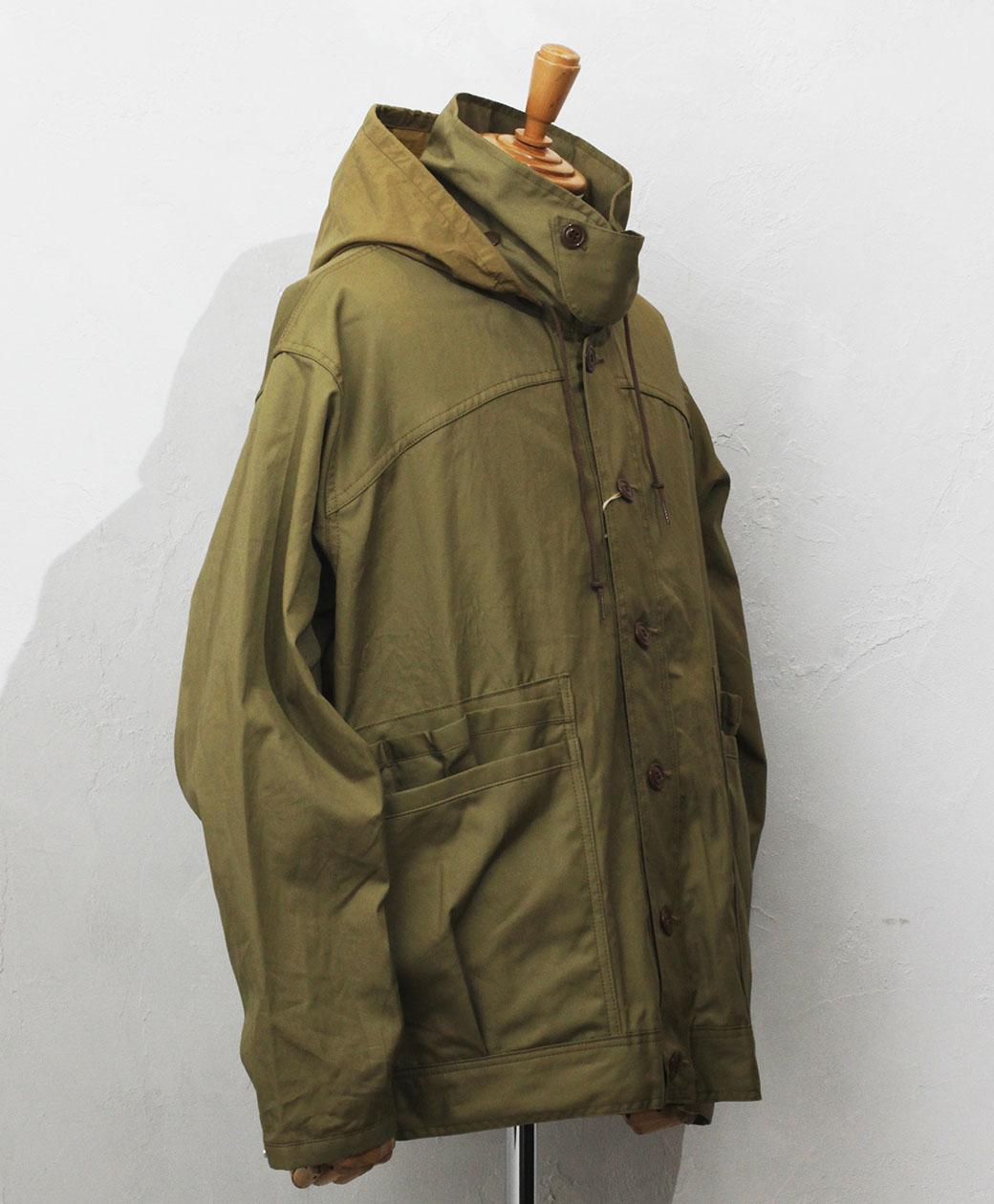 SASSAFRAS Overgrown Hiker Jacket(Weeds Poplin)
