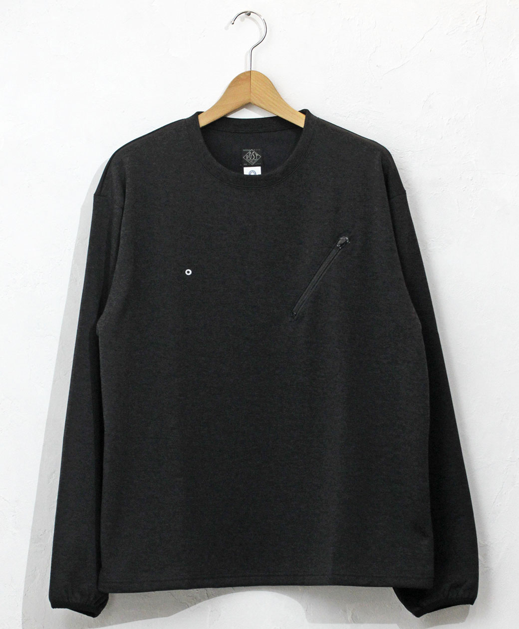 POST O'ALLS #3612 E-Z LS Tee 2 J1 / poly jersey charcoal