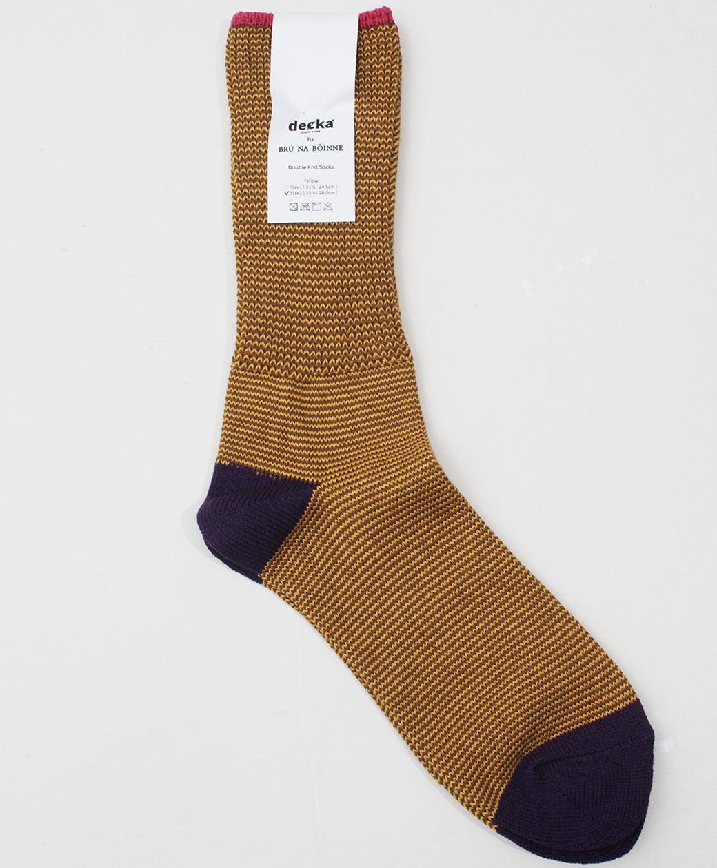 BRU NA BOINNE Double Knit Socks(YELLOW)