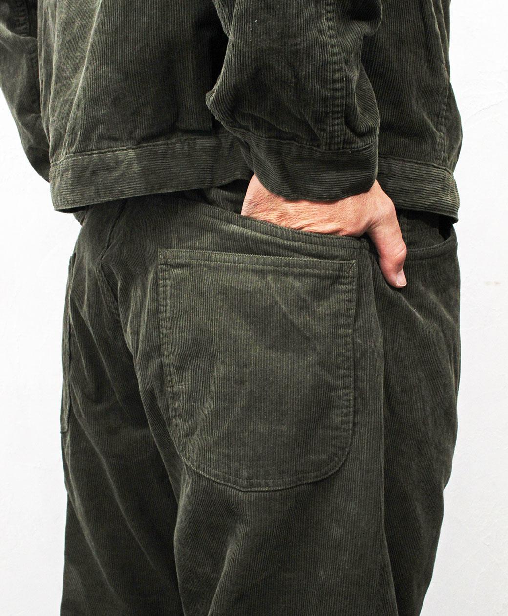 SASSAFRAS Gardening At Night 5 Pants(14w Corduroy)