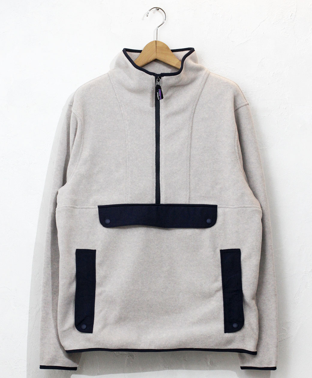 patagonia M'S SYNCH ANORAK(Oatmeal Heather)