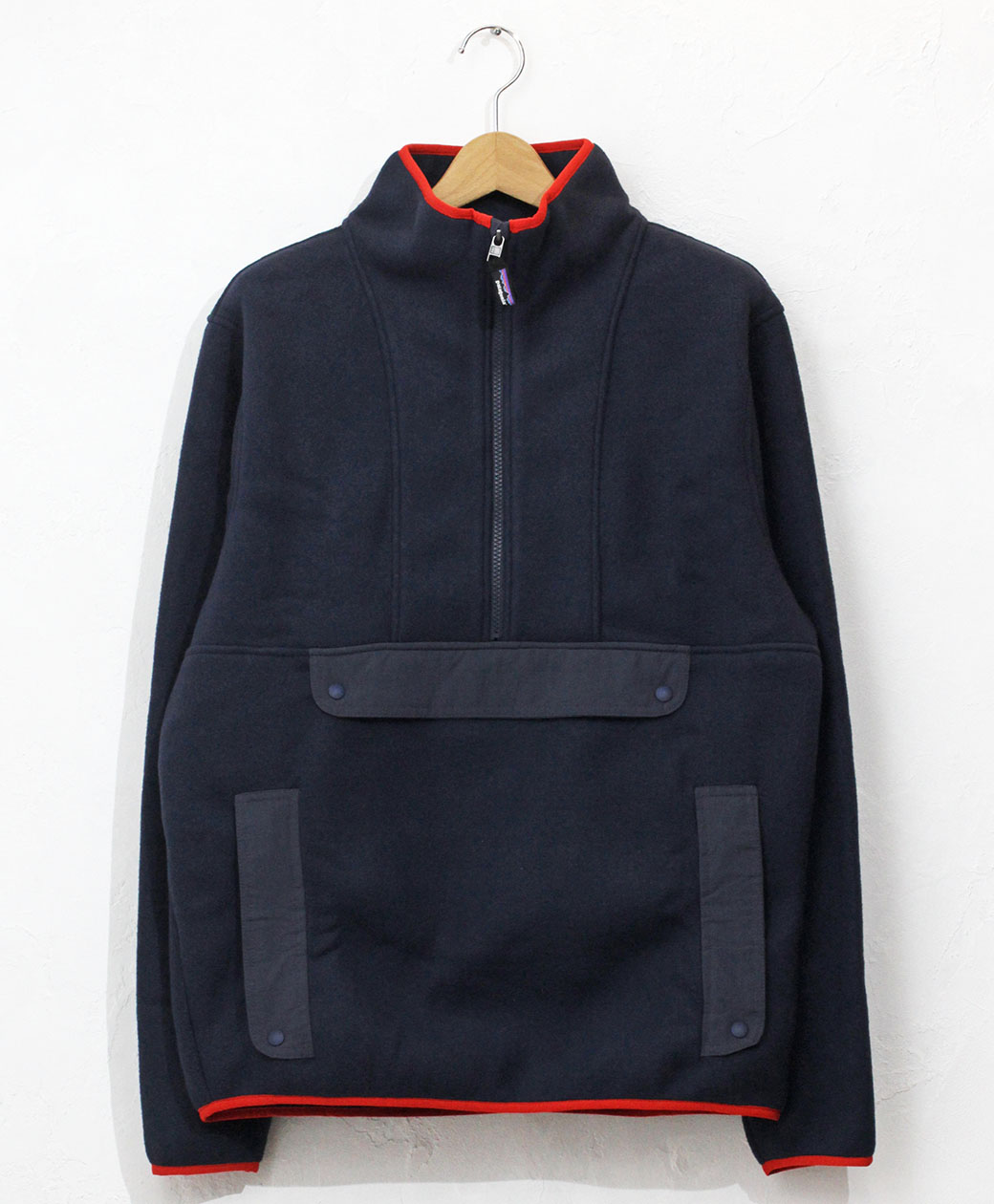 patagonia M'S SYNCH ANORAK(New Navy w/Smolder Blue)