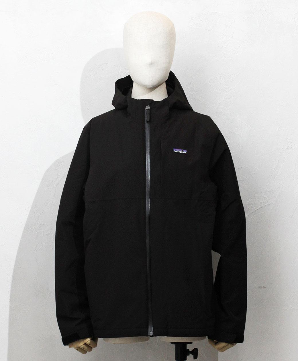 patagonia Boy's 4-in-1 Everyday Jacket(Black)